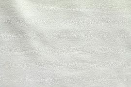 Tissu Suédine Laquée Serpent Blanc Cassé -Coupon de 3 mètres