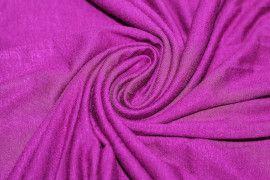 Tissu Jersey Viscose Cyclamen -Au Metre