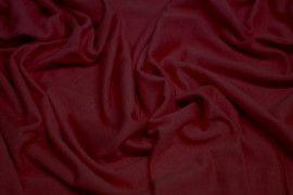 Tissu Jersey Viscose Bordeaux -Au Mètre