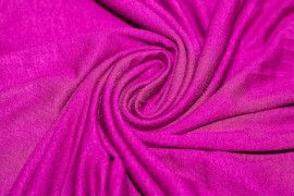 Tissu Jersey Viscose Fuchsia Coupon de 3 metres