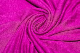 Tissu Jersey Viscose Fuchsia Coupon de 3 mètres