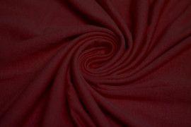 Tissu Jersey Viscose Bordeaux Coupon de 3 metres