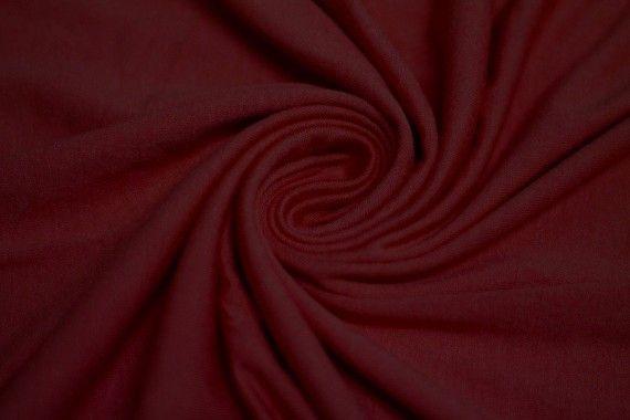 Tissu Jersey Viscose Bordeaux Coupon de 3 mètres
