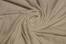 Tissu Jersey Viscose Beige Coupon de 3 mètres