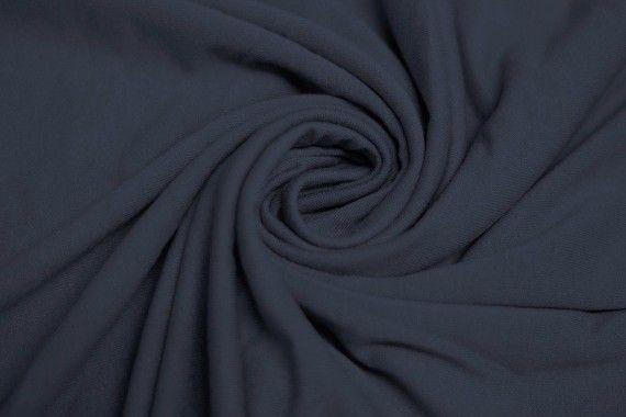 Tissu Jersey Viscose Gris Foncé Coupon de 3 mètres