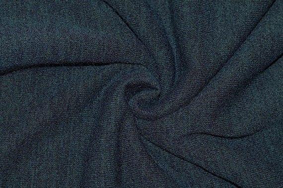 Tissu Maille Pull Blum Bleu Canard -Au Mètre