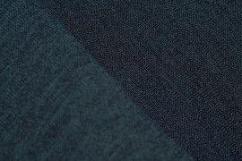 Tissu Maille Pull Blum Bleu Canard -Coupon de 3 mètres