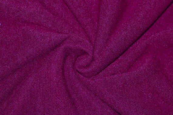 Tissu Maille Pull Blum Fuchsia -Coupon de 3 mètres