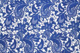 Tissu Guipure Bleu Roi -Au Metre