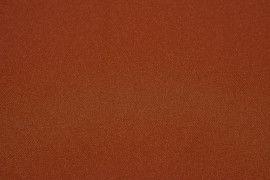 Tissu Burlington infroissable Uni Rouille -Au Mètre