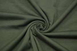 Tissu Molleton Kaki -Au Mètre
