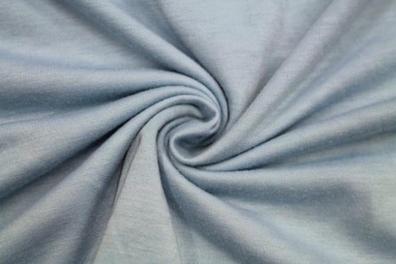 Tissu Molleton Bleu Clair -Coupon de 3 mètres