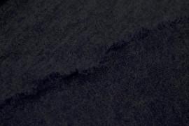 Tissu Lainage Pull Angora Marine -Au Mètre