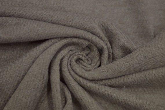 Tissu Lainage Pull Angora Beige -Coupon de 3 mètres