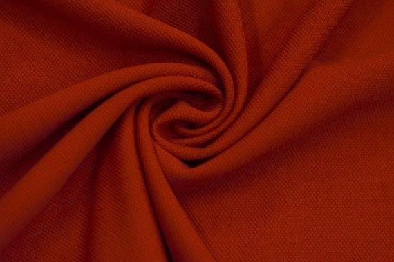 Tissu Maille Piquée Rouge -Au Mètre
