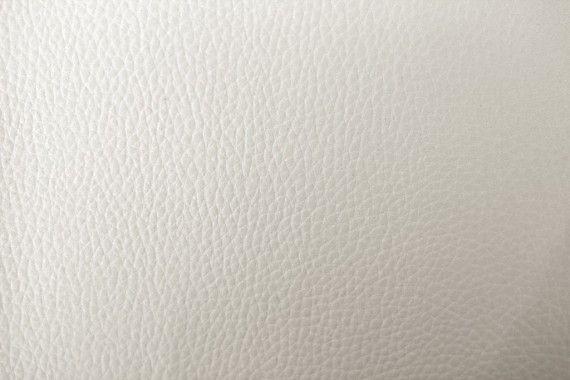Tissu Simili Cuir Blanc -Au Mètre