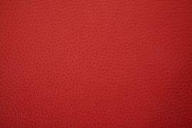 Tissu Simili Cuir Rouge -Au Metre