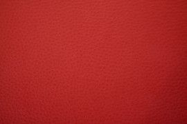 Tissu Simili Cuir Rouge -Au Mètre