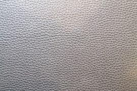 Tissu Simili Cuir Argent -Au Mètre