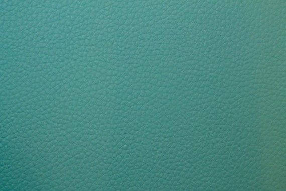 Tissu Simili Cuir Turquoise -Au Mètre