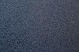 Tissu Simili Cuir Bleu Canard -Au Mètre