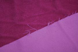 Tissu Velours Velvet Brillant Fuchsia -Au Mètre