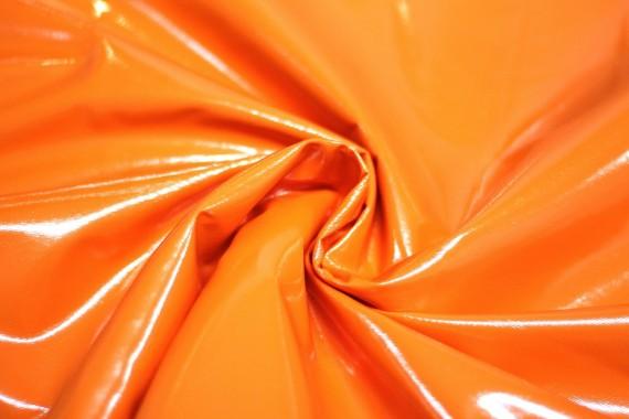 tissu vinyl uni orange au metre. Black Bedroom Furniture Sets. Home Design Ideas