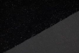Tissu Velours Velvet Brillant Noir -Au Mètre