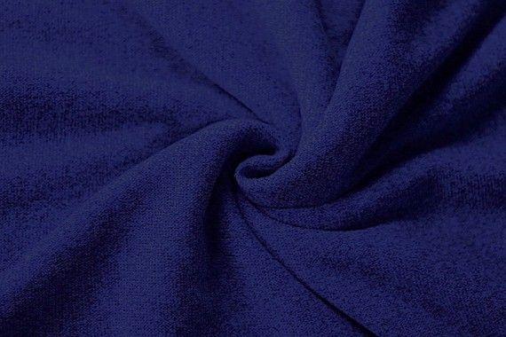 Tissu Maille Pull Blum Royal-Coupon de 3 mètres