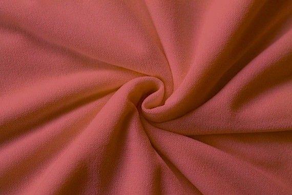 Tissu Maille Pull Blum Corail -Au Mètre
