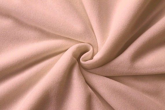 Tissu Maille Pull Blum Rose Pâle -Coupon de 3 mètres