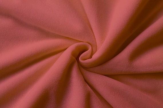 Tissu Maille Pull Blum Corail -Coupon de 3 mètres