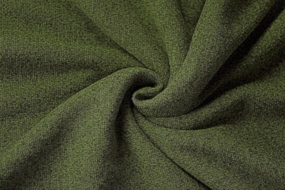 Tissu Maille Pull Blum Kaki -Coupon de 3 mètres