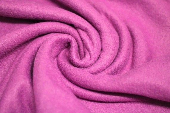 Tissu Polaire Fuchsia Coupon de 3 mètres