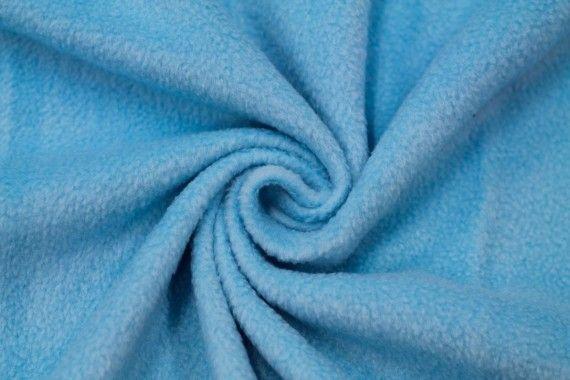Tissu Polaire Turquoise -Au Mètre