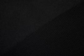 Tissu Lainage Caban Noir -Au Mètre