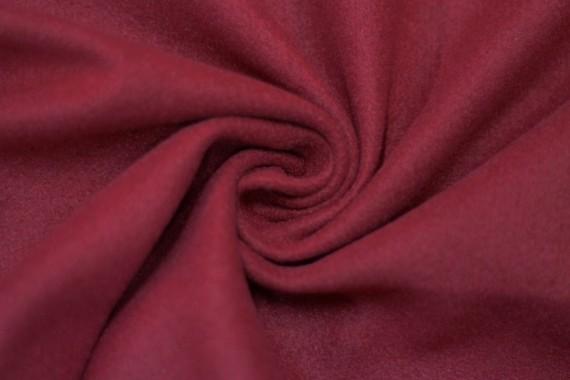 Tissu Lainage Caban Rouge -Au Mètre