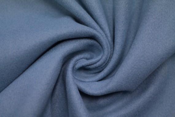 Tissu Lainage Caban Bleu -Coupon de 3 mètres