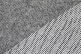 Tissu Lainage Caban Gris Clair -Coupon de 3 mètres