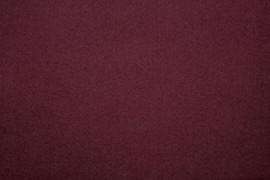 Tissu Lainage Caban Bordeaux -Coupon de 3 mètres