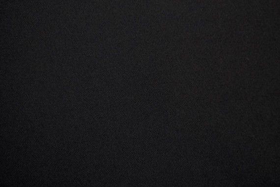 Tissu Burlington Uni 280cm Noir -Au Mètre