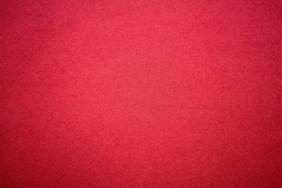 Tissu Burlington Uni 280cm Rouge -Au Mètre