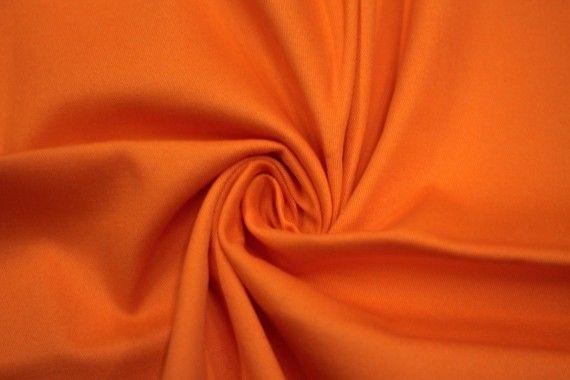 Tissu Gabardine Épaisse Oange -Coupon de 3 mètres