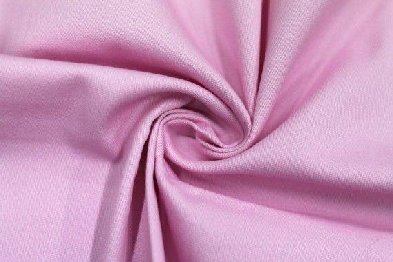 Tissu Gabardine Épaisse Rose -Coupon de 3 mètres