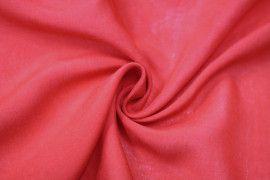 Tissu Viscose Unie Rouge -Au Mètre