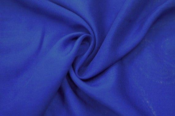 Tissu Viscose Unie Bleu roi -Au Mètre