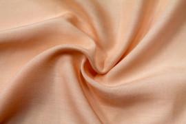 Tissu Viscose Unie Saumon -Au Mètre