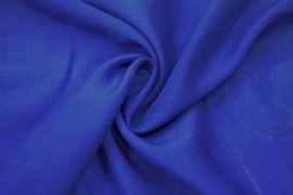 Tissu Viscose Unie Bleu roi -Coupon de 3 mètres