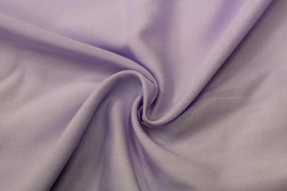 Tissu Viscose Unie Lilas -Coupon de 3 mètres