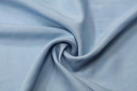 Tissu Viscose Unie Bleu horizon -Coupon de 3 mètres